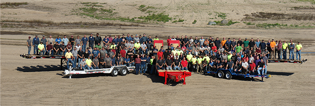 Felling Trailers 2018 Company Photo