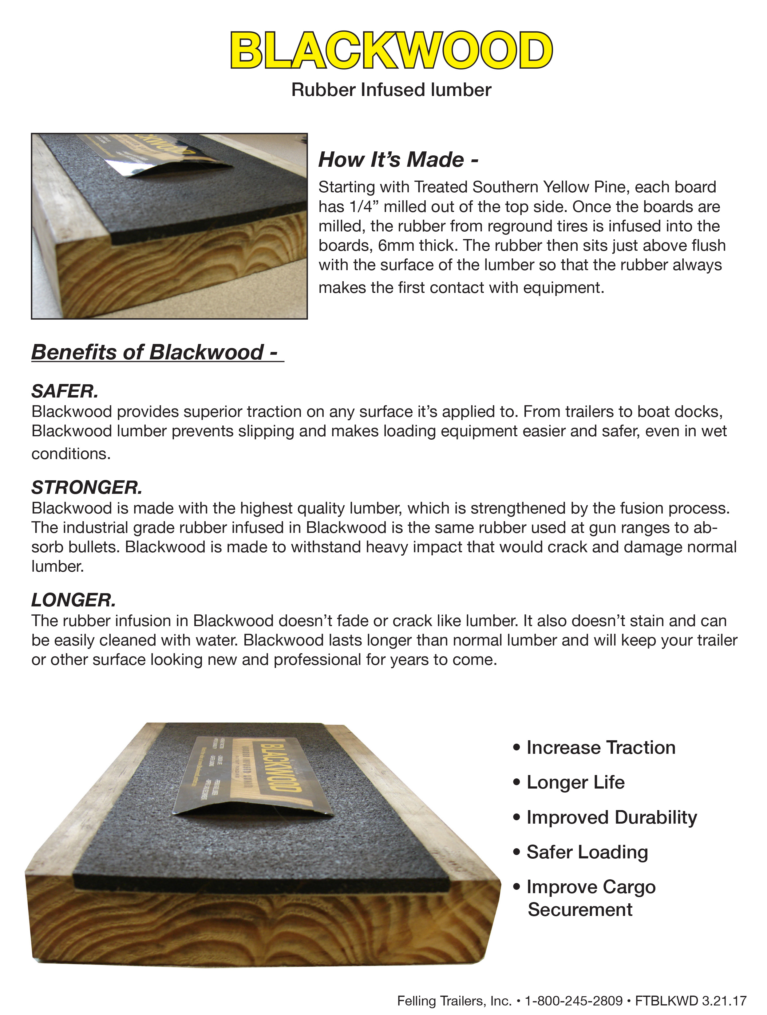 Blackwood Lumber decking option