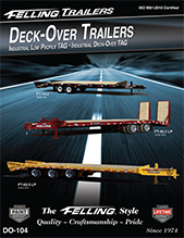 Felling Deck-Over Tag Stacked Frame and Low Profile Trailers DO-104