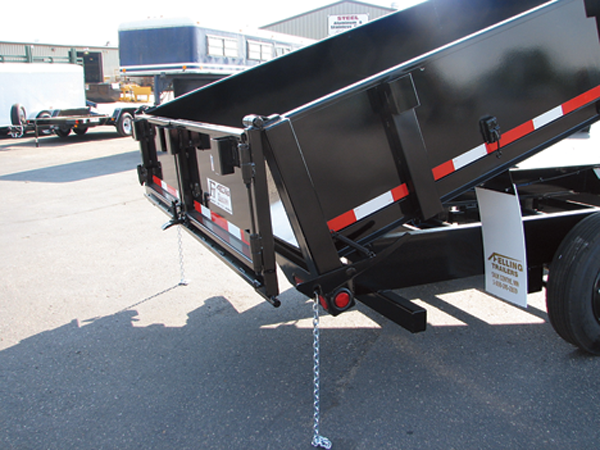 Dump Gate Options Hydraulic Dump Trailers Felling Trailers