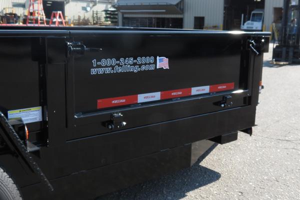 Dump Gate Options Hydraulic Dump Trailers Felling Trailers