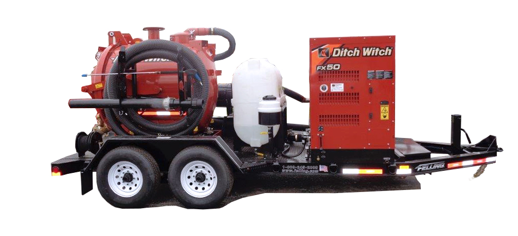 FT-14-I Vac Trailer 001 - Missing link is the Solution