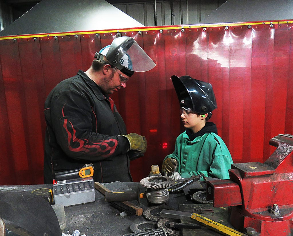 Felling Trailers Youth Welding Camp