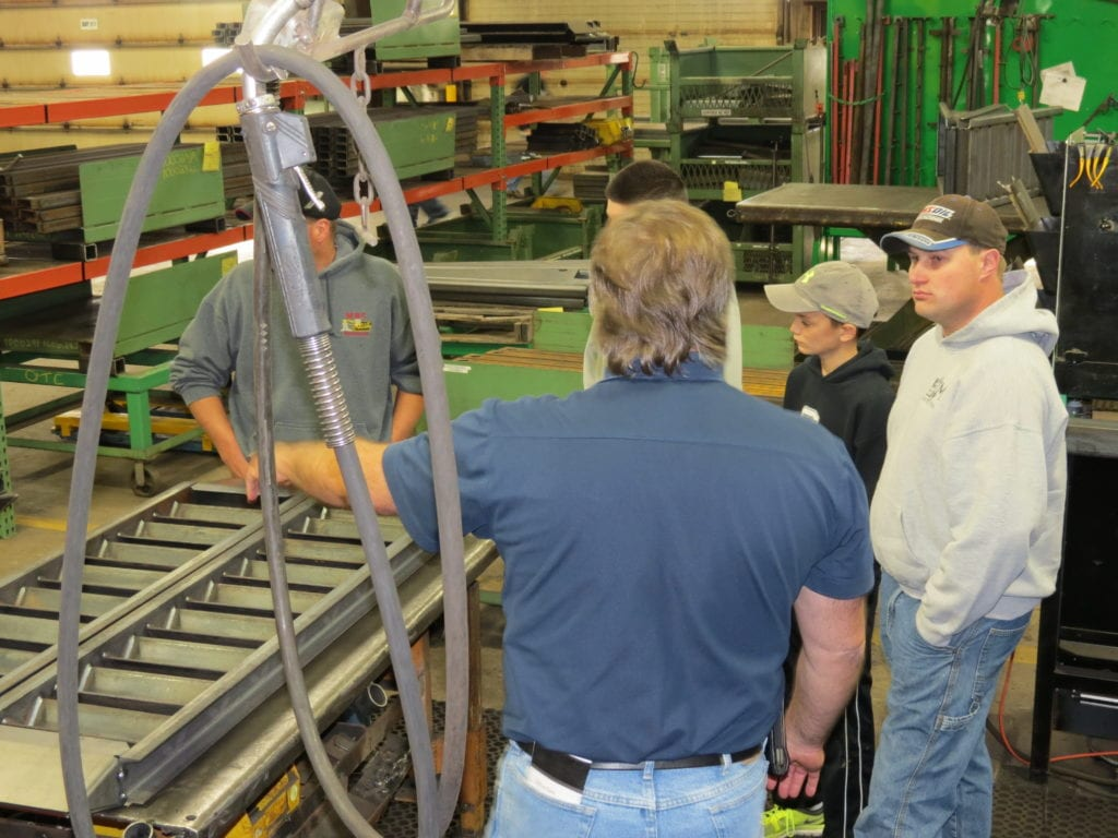 Felling Trailers Minnesota Tour of Manufacturing