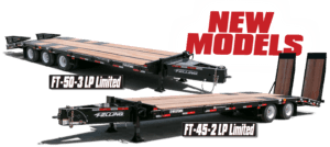 FT-45-2 & FT-50-3 LP Limited - Felling Trailers