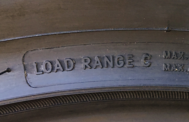 Load Range Tire - Felling Trailers - Common Trailer Tire Questions