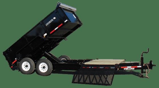 Hydraulic dump trailer FT-12 DT HD SP - 43188LAE