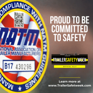 NATM Badge Proud to be committed to safety