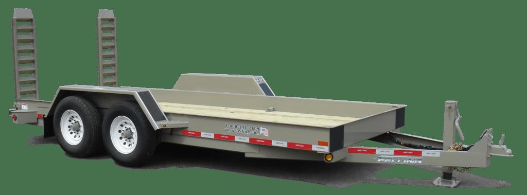 FT-12 P skid steer trailer - 75575LAE